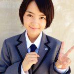 NHK連続テレビ小説!わろてんか出演の葵わかな制服姿